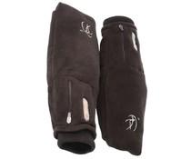 Verwarmde fleece overslagwanten Deluxe - oplaadbare accu