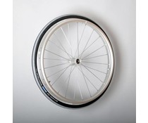 20 inch aluminium wiel met Schwalbe luchtband ( 12,7 mm as )