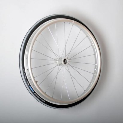 20 inch aluminium wiel met Schwalbe luchtband ( 12 mm as )