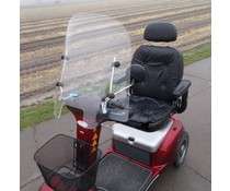 Universeel windscherm scootmobiel type 2