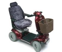 Schapenvacht zithoes scootmobiel - Antraciet