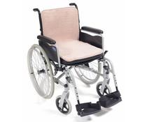Fleece zitting voor scootmobiel en rolstoel