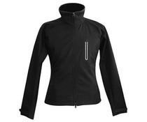 Verwarmde jas dames zwart