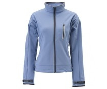 Verwarmde jas dames blauw