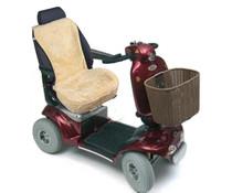 Schapenvacht zithoes Scootmobiel - Beige