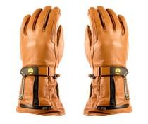 7V verwarmde handschoen leder - oplaadbare accu
