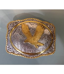 Crumrine Western Buckle with Eagle