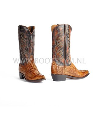 Lucchese 1883 Crocodile leather cowboy boot