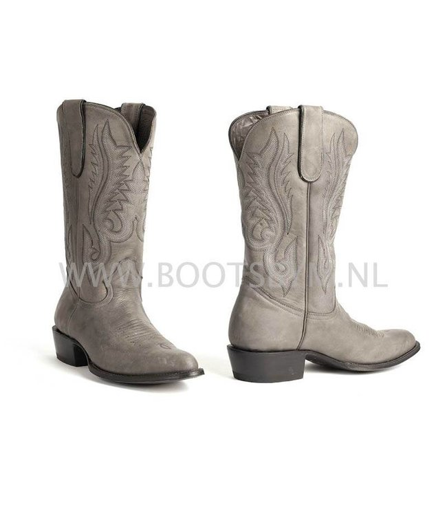 MBoots Classic matte taupe cowboy boot for men Moro Buffed model