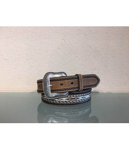 Nocona Western belt double stitched