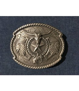Nocona Silver-colored western buckle