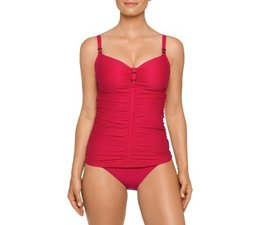 Prima Donna Swimwear Cocktail Tankini zonder Mousse Red Captain