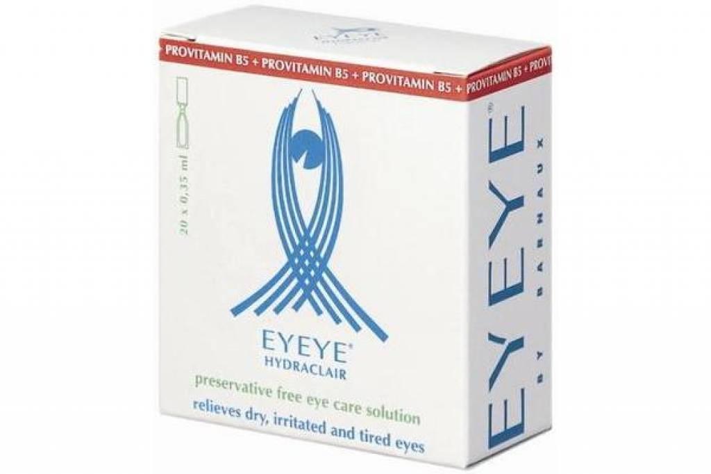 Eyeye: Eyeye Hydraclair ERCS B5 Ampullen (20x 0,35 ml ampullen)