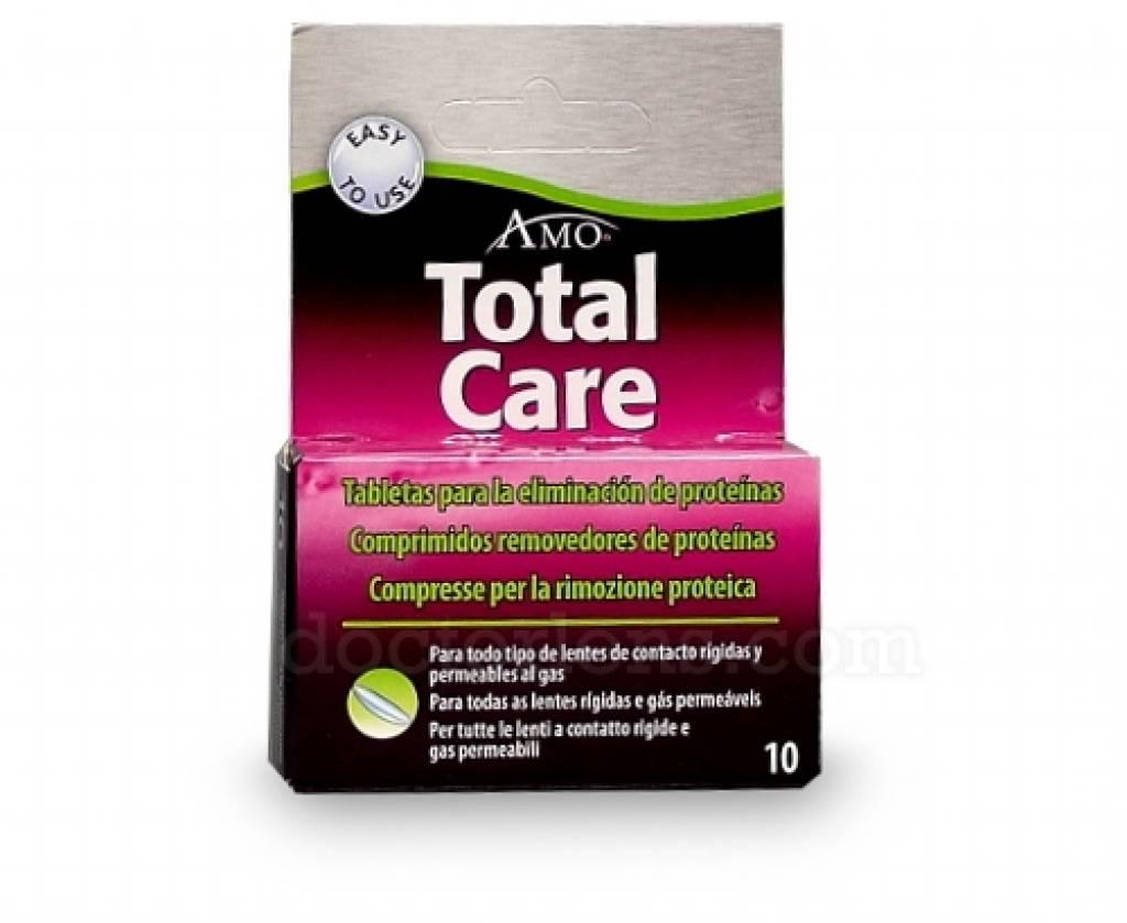 AMO TotalCare Tabletten (10 tabletten)  Oogproductnl # Wasbak Matje_195642