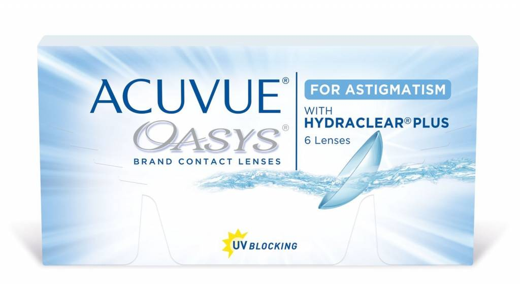 Johnson & Johnson ACUVUE OASYS for ASTIGMATISM (6 - pack)
