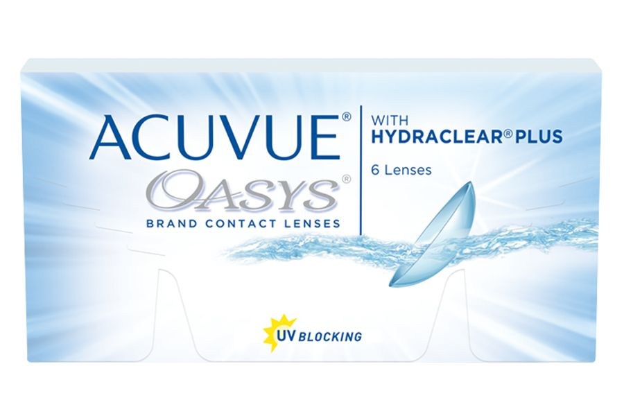Coopervision ACUVUE OASYS with HYDRACLEAR Plus (6 - pack)