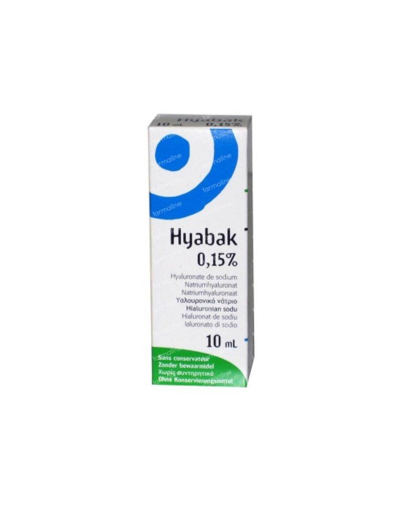 Thea Pharma: Hyabak, de oogdruppel tegen, branderige en vermoeide droge ogen