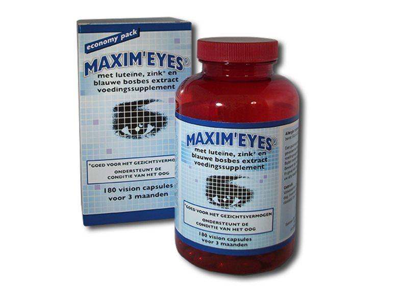 Sanmed: Sanmed Maxim Eyes (180 capsules)