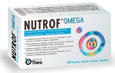 Thea Pharma: Nutrof Omega (60 caps)