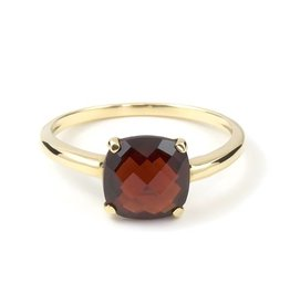 Navarro Ring - Gold + Garnet