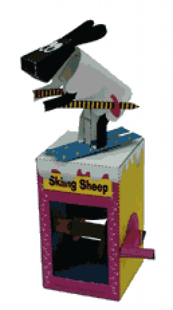 Ski nd schaap skiing sheep het allegaartje - Decoratie bekken ...