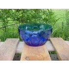 Deco Blauwe country bowl