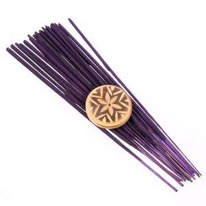 Puckator Boeddha's Delight wierook met houder Lavendel