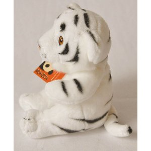 Anna Plush Bush baby witte tijger