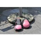 HB ruitersport Peesbeschermerset roze