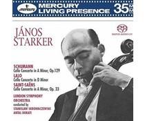 Schumann/Janos Starker Janos Starker Cello Concertos of Schumann Lalo SaintSans