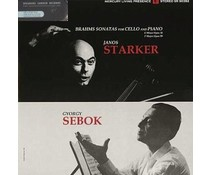 Brahms/ Janos Starker/ Gyorgy Sebok Sonatas For Cello & Piano(J.. Starker/G. Sebok)