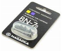 Nagaoka BN7b Screws Black