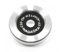Nagaoka Single Adapter Aluminium
