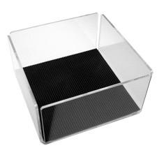 cd softcover acrylic storage 40 cds dvds vinylvinyl. Black Bedroom Furniture Sets. Home Design Ideas