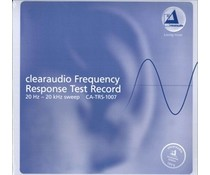 Clearaudio Frequency Response Test