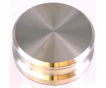 Tonar Record Weight - Silver Nickle plated Brass