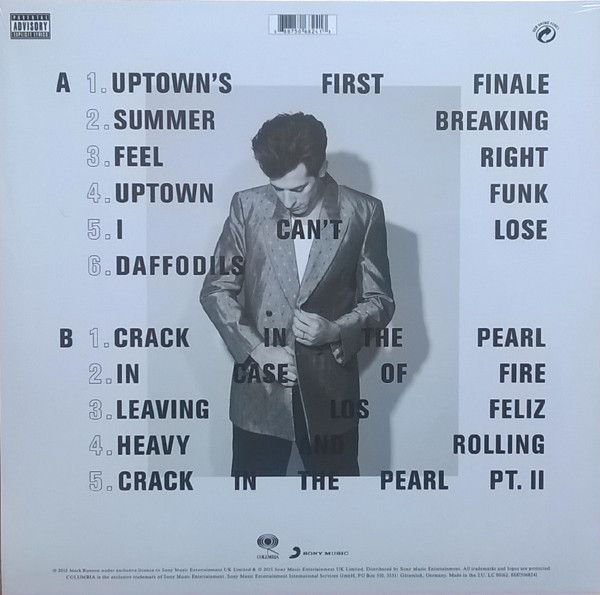 Mark Ronson Uptown Special (ft. Stevie Wonder/Bruno Mars ...