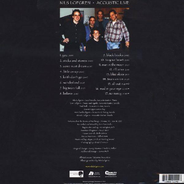 Nils Lofgren Acoustic Live Vinylvinyl