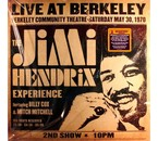 Jimi Hendrix / Experience Live At Berkeley