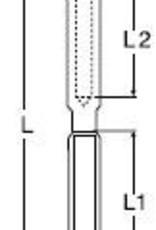 Rvs Studterminal rechts AISI-316
