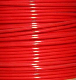 Verzinkte Staalkabel Rood PVC omsp. 6x7+1pp 250 mtr. haspel