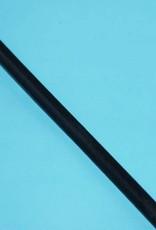 Fitness staalkabel verzinkt Zwart omspoten per meter
