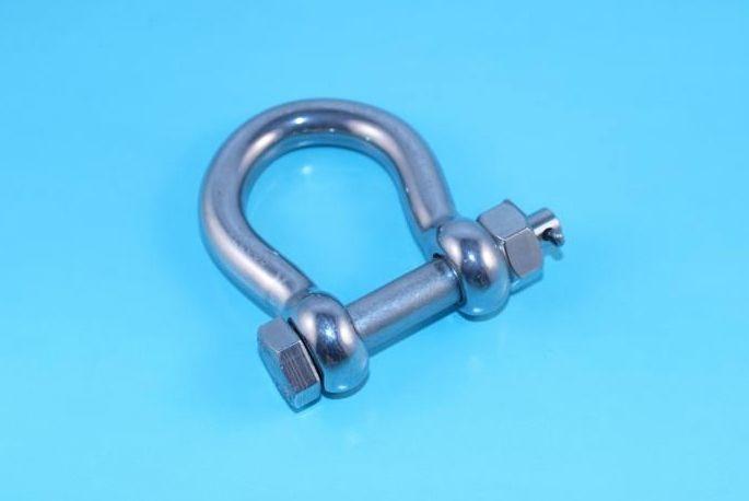Rvs harpsluiting met moerbout AISI-316, 6 mm t/m 19 mm