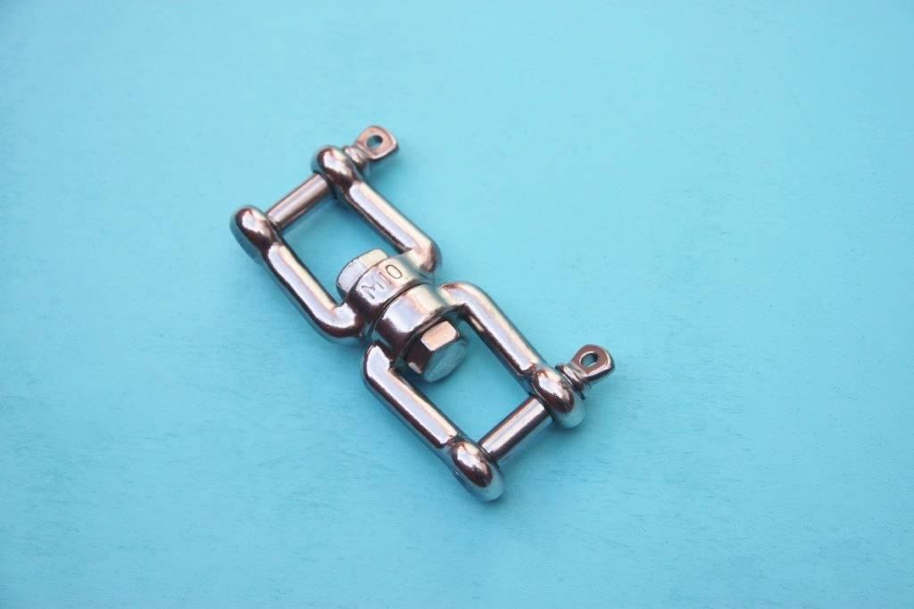 Rvs Wartel gaffel-gaffel AISI-316