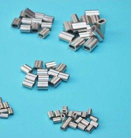 Tin / koperen 8-vormige persklem voor Rvs kabel