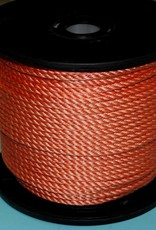 Polypropylene / 3 strengs geslagen, oranje, 220 meter