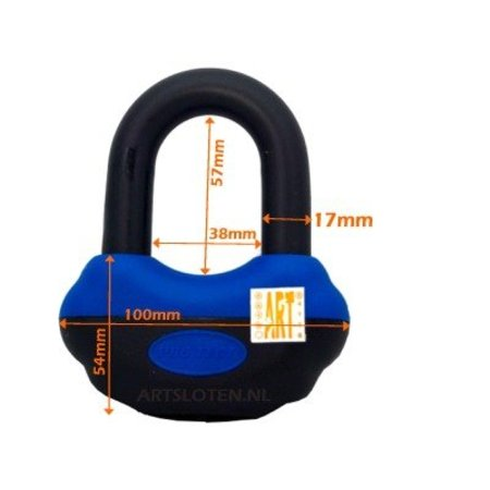 Protect Kettingslot Art4 4109 ART 4 300CM Loop