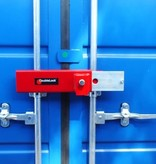 DoubleLock ContainerLockHeavy Red SCM