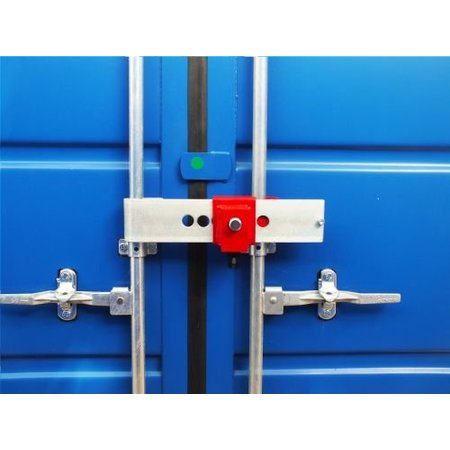 DoubleLock Container Lock Red SCM