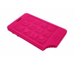 Jellystone Designs Bijtspeeltje Mobieltje Hot Pink